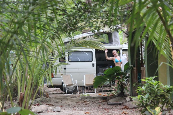 Camp spot Santa Teresa
