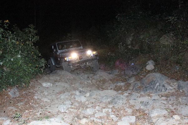 Bumpy road volcan Baru
