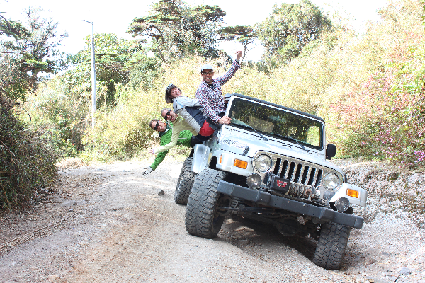 Group Jeep Volcan Baru