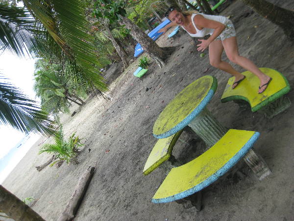 Siri surf bench