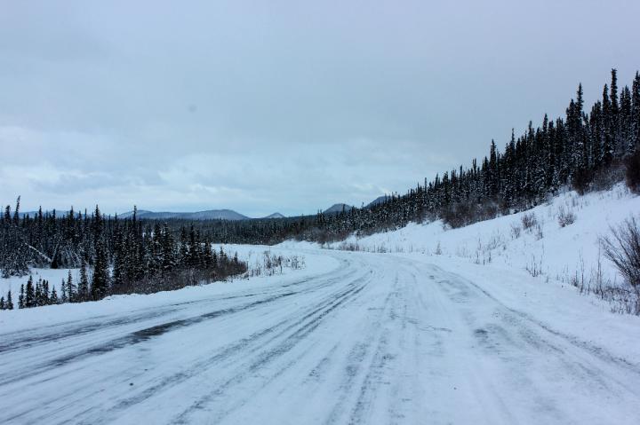 2.Snowy Road