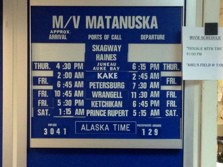 10. Ferry Schedule