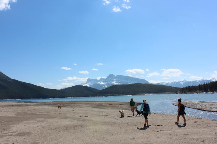 5. Beach Lake Minnewanka