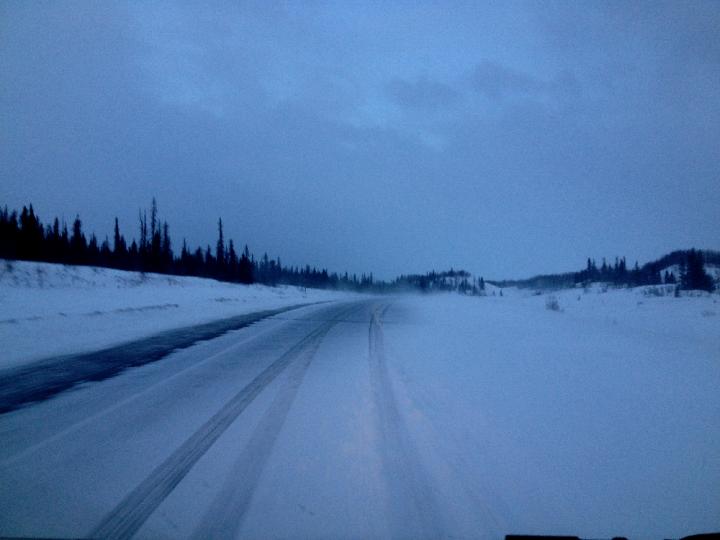 7. Snowy Roads