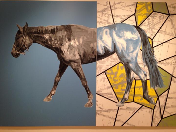 22. art museum horse