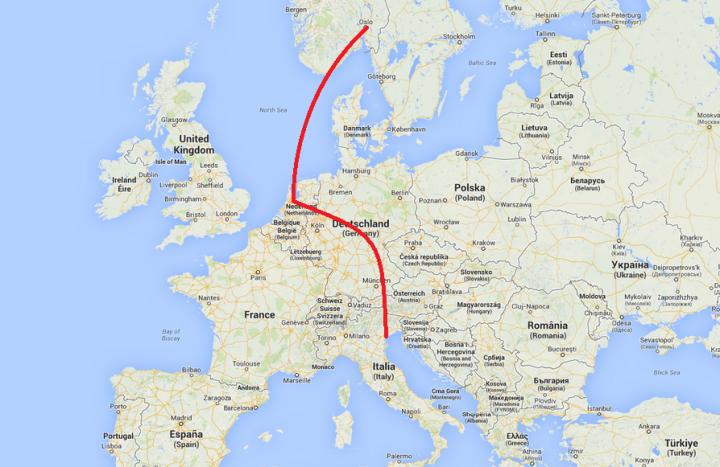 2.Europe map