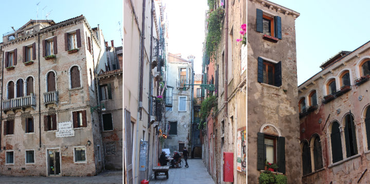 Street scenes Venice