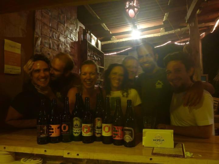 Mopelia Norwegian Beer Tasting